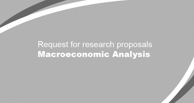 Request for Research Proposals - Macroeconomic Analysis