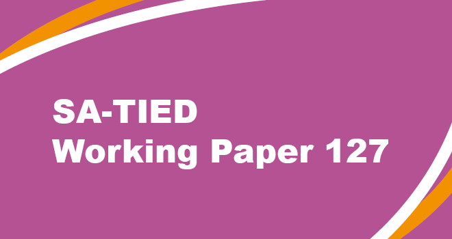 SA-TIED Working Paper 127