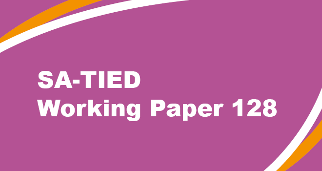 SA-TIED Working Paper 128