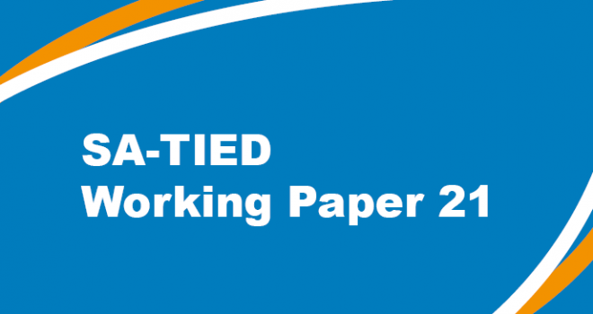 SA-TIED Working Paper 21