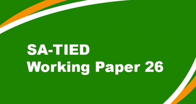 SA-TIED Working Paper 26