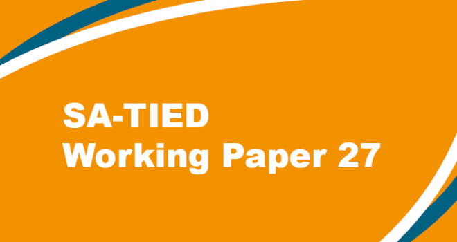 SA-TIED Working Paper 27