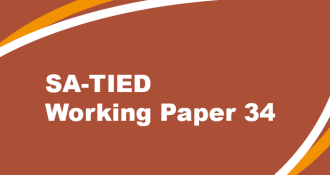 SA-TIED Working Paper 34