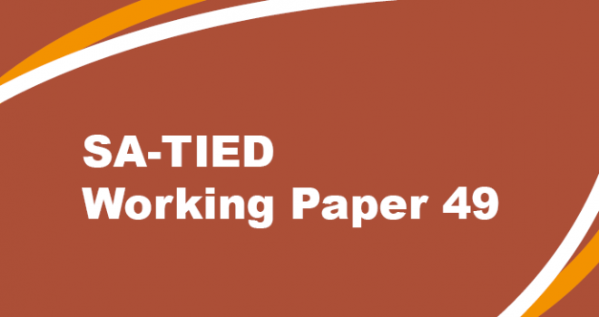 SA-TIED Working Paper #49
