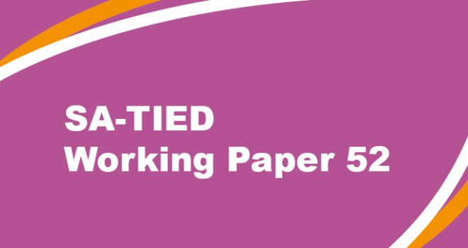 SA-TIED Working Paper #52