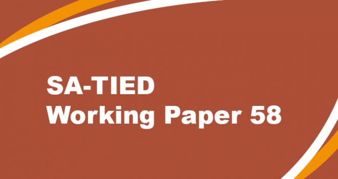 SA-TIED Working Paper #58