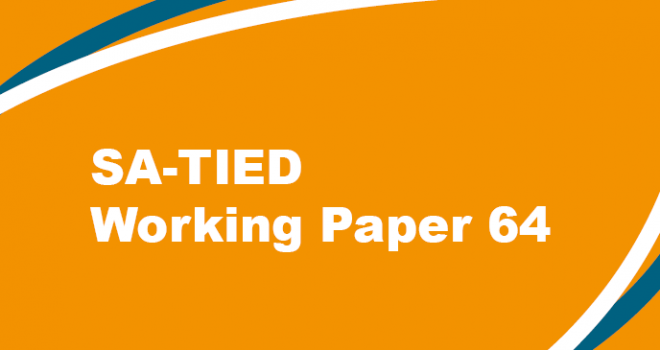 SA-TIED Working Paper #64