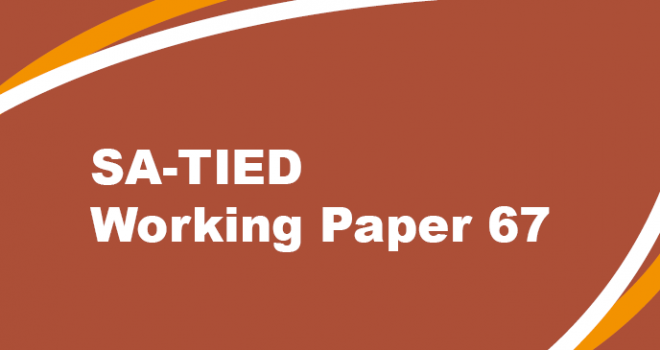 SATIED Working Paper #67