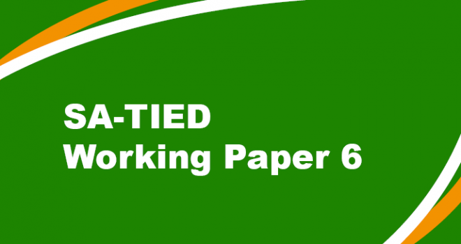 SA-TIED Working Paper 6
