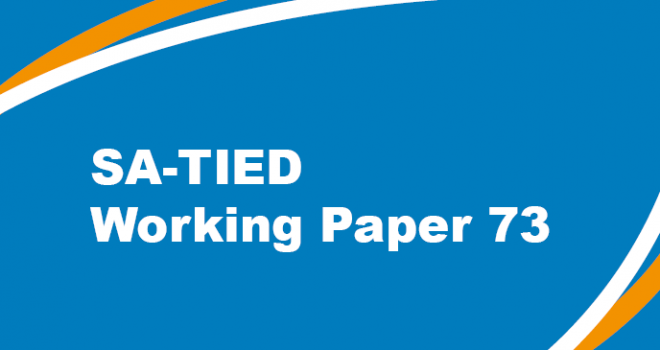 SA-TIED Working Paper #73