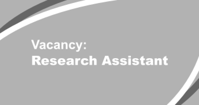 Vacancy Research Assistant