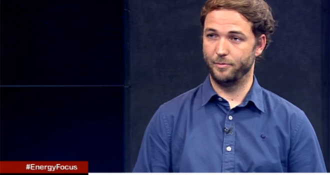 SA-TIED researcher Bryce McCall appears on SABC news