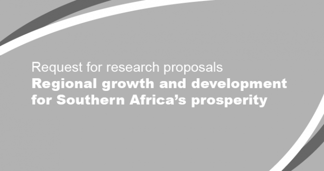 Request for Research Proposals - Regional growth and development for Southern Africa's prosperity