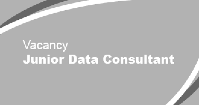 Vacancy - Junior Data Consultant