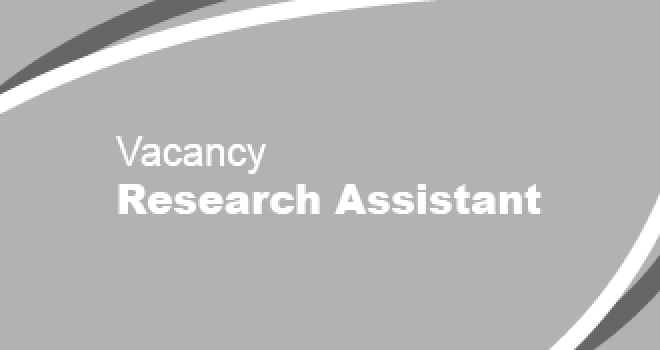 Vacancy - Research Assistant